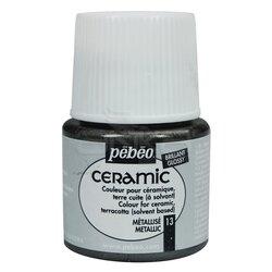 Pebeo - Pebeo Seramik Boyası 13 Metallic 45ml