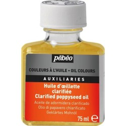 Pebeo - Pebeo Clarified Poppy Seed Oil 75ml Haşhaş Yağı (1)