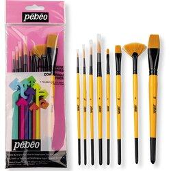 Pebeo - Pebeo Çok Amaçlı Hobi Fırça Seti 4 (1)
