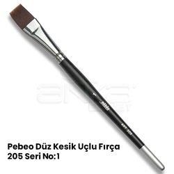 Pebeo - Pebeo 205 Seri Düz Kesik Uçlu Fırça (1)