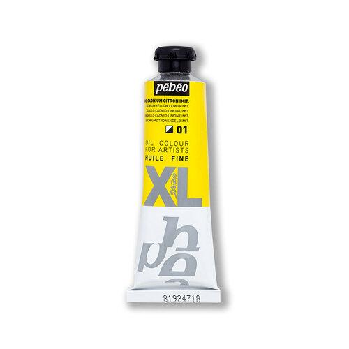 Pebeo Huile Fine XL 37ml Yağlı Boya No:01 Lemon Cadmium Yellow Hue - 01 Lemon Cadmium Yellow Hue