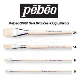 Pebeo 258F Seri Düz Kesik Uçlu Fırca - Thumbnail