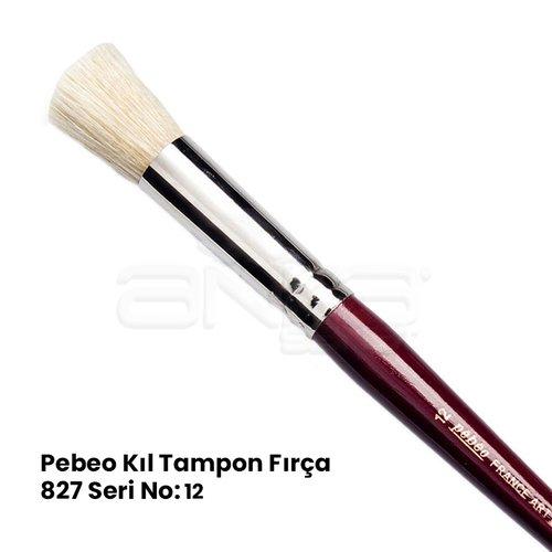 Pebeo 827 Seri Kıl Tampon Fırça