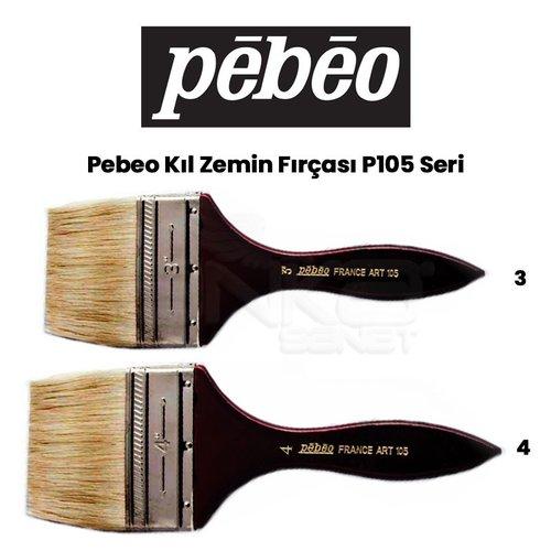 Pebeo P105 Seri Zemin Fırçası