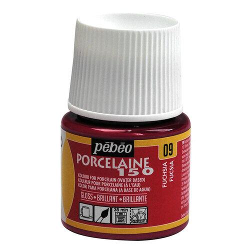 Pebeo Porcelaine 150 Fırınlanabilir Porselen Boyası 09 Fuchsia