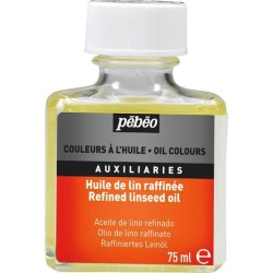 Pebeo - Pebeo Refined Linseed Oil Keten Yağı 75ml (1)