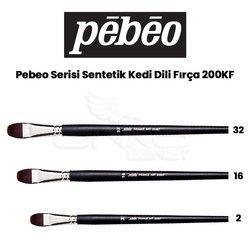 Pebeo - Pebeo 200KF Seri Sentetik Kedi Dili Fırça