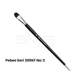 Pebeo - Pebeo 200KF Seri Sentetik Kedi Dili Fırça (1)