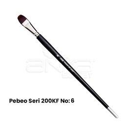 Pebeo 200KF Seri Sentetik Kedi Dili Fırça - Thumbnail