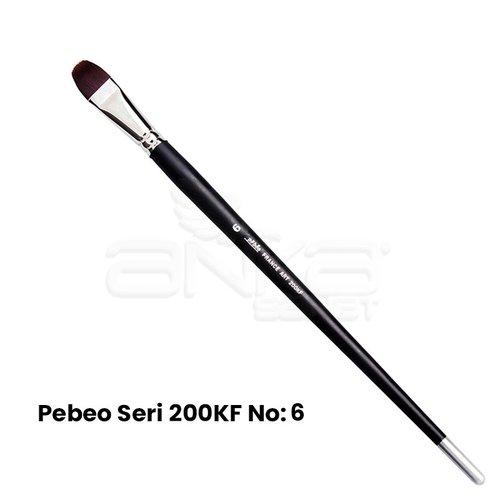 Pebeo 200KF Seri Sentetik Kedi Dili Fırça