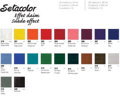Pebeo Setacolor Suede Effect Kumaş Boyası 45ml