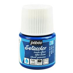 Pebeo - Pebeo Setacolor Suede Effect Kumaş Boyası Royal Blue 310