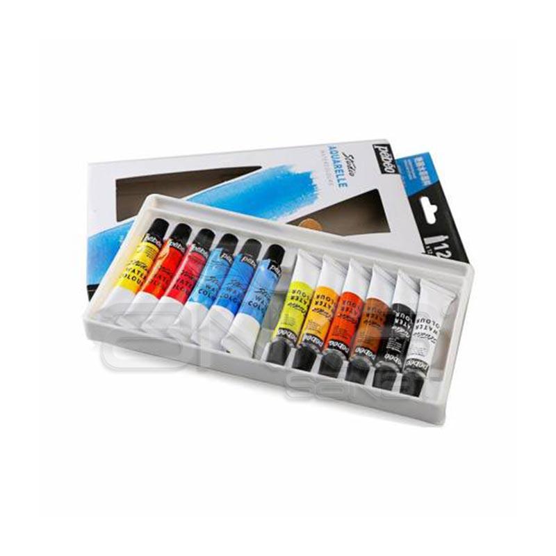 Pebeo Studio Aquarelle Watercolours 12 Renk Tüp Fiyatları - Pebeo Studio  Aquarelle Watercolours 12 Renk Tüp Çeşitleri - Sulu Boya Seti Fiyatları -  Sul