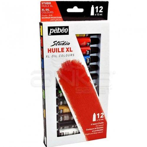 Pebeo Studio Huile XL Yağlı Boya Seti 12x12ml 668100