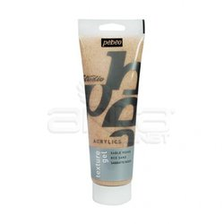 Pebeo - Pebeo Texture Gel Beyaz Kum Jeli 250ml (1)