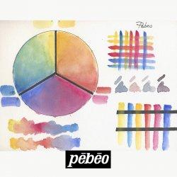 Pebeo - Pebeo Watercolour Aquarelle Fine 1/2 Tablet Sulu Boya 12 Renk Mediterranean Akdeniz Renkleri (1)