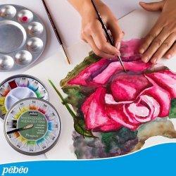 Pebeo - Pebeo Watercolour Aquarelle Fine 1/2 Tablet Sulu Boya 12 Renk Provence (1)