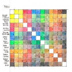 Pebeo - Pebeo Watercolour Aquarelle Fine 1/2 Tablet Sulu Boya 12 Renk Standart Renkler (1)