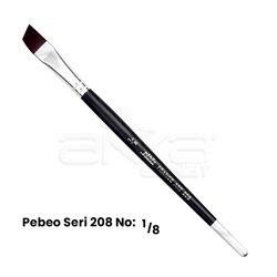 Pebeo - Pebeo 208 Seri Yan Kesik Uçlu Fırça (1)