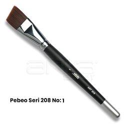 Pebeo 208 Seri Yan Kesik Uçlu Fırça - Thumbnail