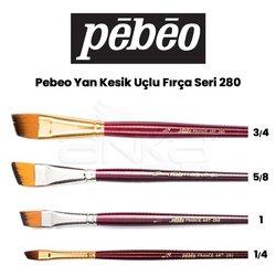Pebeo - Pebeo 280 Seri Yan Kesik Uçlu Fırça