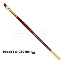 Pebeo - Pebeo 280 Seri Yan Kesik Uçlu Fırça (1)