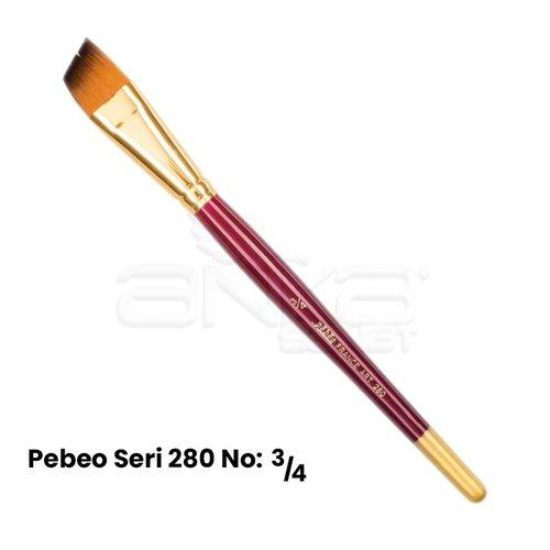 Pebeo 280 Seri Yan Kesik Uçlu Fırça