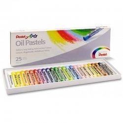 Pentel - Pentel Yağlı Oil Pastel 25 Renk