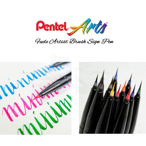 Pentel Artist Brush Sign Pen Ultra Fine