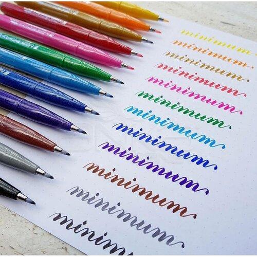 Pentel Brush Sign Pen Fırça Uçlu Kalem