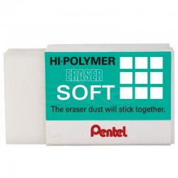Pentel - Pentel Hi-Polymer Silgi Soft