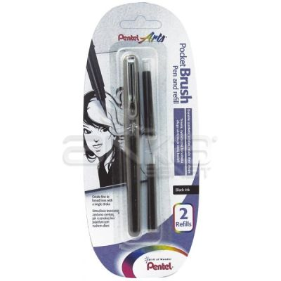 Pentel Pocket Brush Pen And Refills