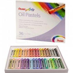 Pentel - Pentel Yağlı Oil Pastel 36 Renk