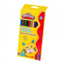 Play-Doh - Play-Doh 12 Renk Aquarell Kuru Boya KU010