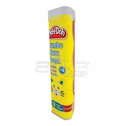 Play-Doh 12 Renk Jumbo Üçgen Tüp Kuru Boya KU006 - Thumbnail