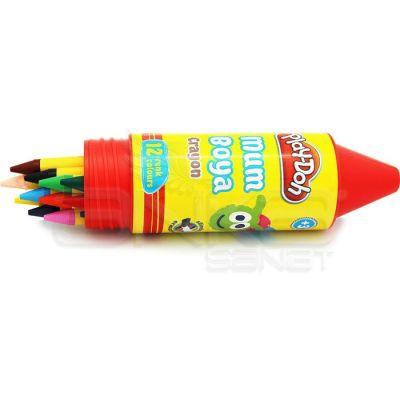 Play-Doh 12 Renk Mum Boya 11mm Tüp CR006