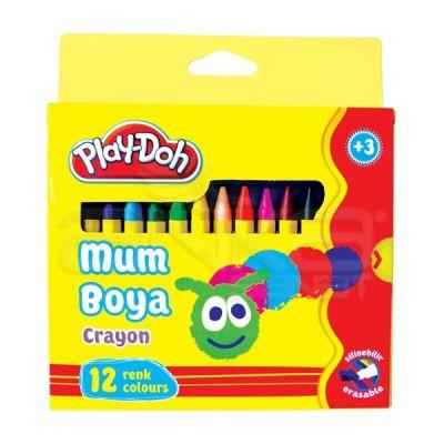 Play-Doh 12 Renk Mum Boya 8mm CR004