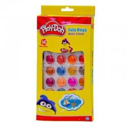 Play-Doh - Playdoh 36 Renk Suluboya Seti