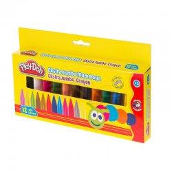 Play-Doh - Play-Doh Extra Jumbo Mum Boya 12 Renk CR011