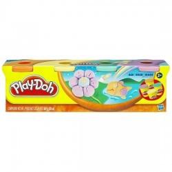Playdoh - Play-Doh Oyun Hamuru 4 Renk Pastel Renkler