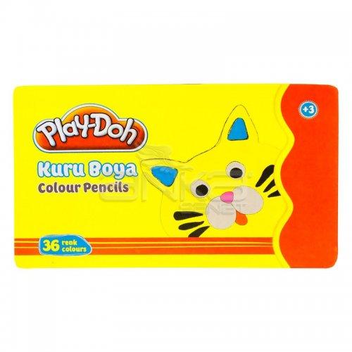 Play-Doh Teneke Kutu Kuru Boya 36 Renk KU015