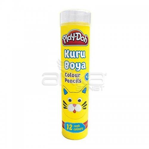 Play-Doh Tüp Kuru Boya 12 Renk KU005
