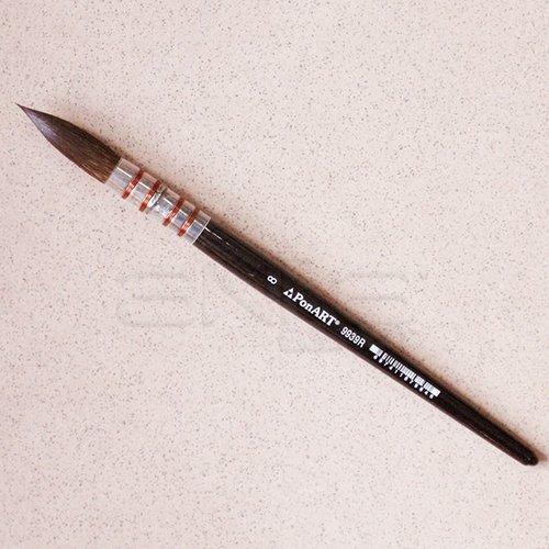 Ponart 9939R Seri Sulu Boya Fırçası No: 8