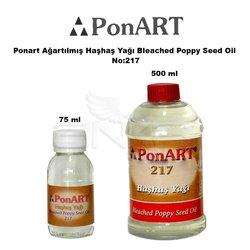 Ponart - Ponart Ağartılmış Haşhaş Yağı Bleached Poppy Seed Oil No:217