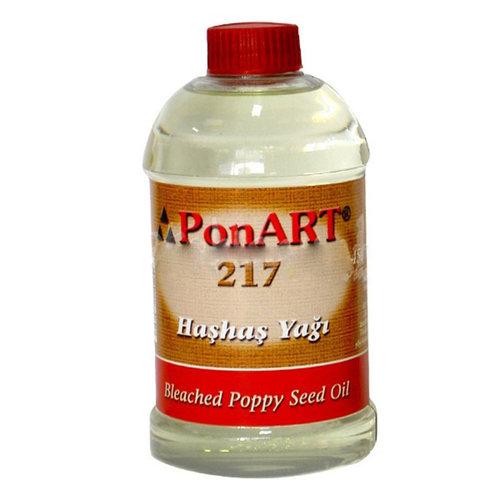 Ponart Ağartılmış Haşhaş Yağı Bleached Poppy Seed Oil No:217