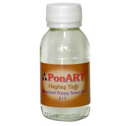 Ponart Ağartılmış Haşhaş Yağı Bleached Poppy Seed Oil No:217 - Thumbnail