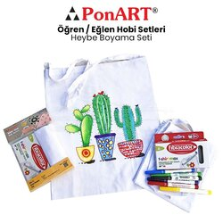 Ponart Heybe Boyama Seti PHS-21 - Thumbnail