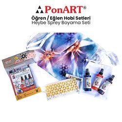 Ponart - Ponart Heybe Sprey Boyama Seti PHS-23