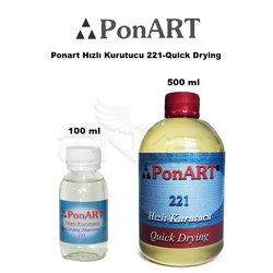 Ponart - Ponart Hızlı Kurutucu 221-Quick Drying