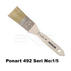 Ponart 492 Seri Zemin Fırçası - Thumbnail